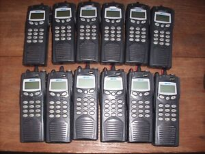 Lot Of 12 Macom P7100ip Radio Ht7170t81x