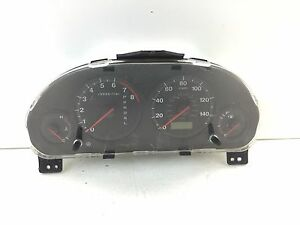 2001 2002 Honda Civic At Ngs Natural Gas Speedometer Instrument Gauge Cluster