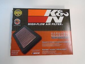 K n 33 2304 High Performance Replacement Air Filter For 2003 2017 Subaru 1 5l