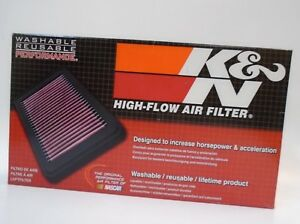 K n 33 2281 High Performance Replacement Air Filter For 2004 2009 Toyota 4 Runne