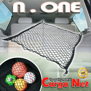 Fit Subaru Trunk Car Rear Cargo Net Double Layers Storage Envelope W Hooks