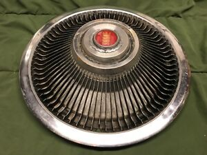 75 82 Ford Mercury Passenger Car Hubcap 15 Original Turbine Spoke