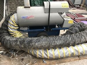 Frost Fighter Idf 500 000 Btu Indirect Fired Heat Wagon Construction Heater