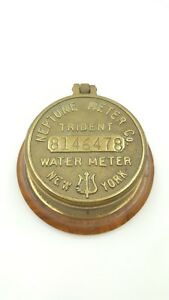 Hip Steampunk Trident Neptune Water Co Meter 5 8 Converted Table Trinket Box