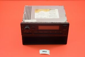 F4 99 00 Honda Civic Am Fm Radio 2dc0 Stereo 39100 s01 a210 m1 Genuine Oem