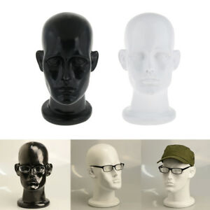 Mannequin Head Wig Hat Sunglasses Glasses Display Model Holder Stand Male