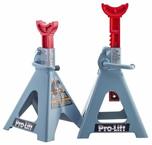 Pro Lift T 6906d Double Pin Jack Stands 6 Ton