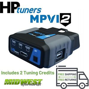 Hp Tuners Mpvi2 Vcm Suite Standard W 2 Credits For Ford Gm Dodge Chrylser