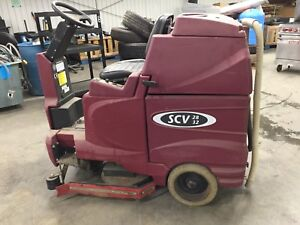 Minuteman Floor Scrubber Scv 28 32 For Parts And Repair
