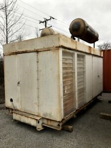 Used 500 Kw Diesel Generator Cummins Vta 1710 g1 Enclosed Tested For Sale