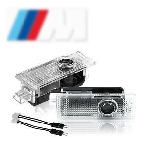 Insassy Bmw Led Door Light Logo M Power Projector Welcome Courtesy Lighting 2x