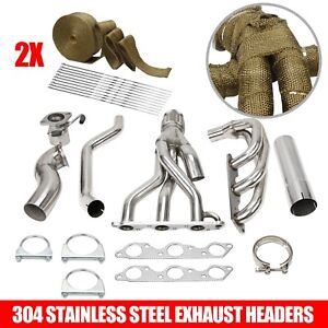 Stainless Racing Manifold Header exhaust For Grand Prix gtp regal impala 3 8l V6