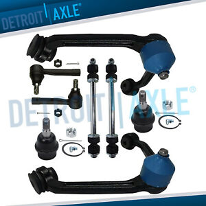 1998 1999 2000 2001 2011 8px Ford Ranger Upper Control Arms Ball Joints Tie Rods