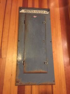 Wadsworth Electrical Load Center Panel Box Outer Cover