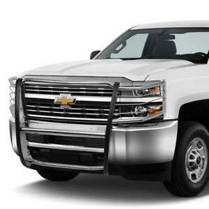 1 5 Stainless Steel Front Bumper Brush Guard Frame For 2011 2014 Chevy Silverado