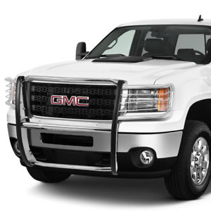 1 5 od Stainless Steel Front Bumper Brush Guard Frame For 2011 2014 Gmc Sierra