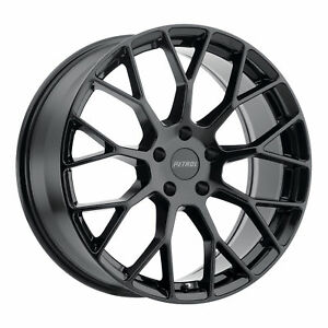 18 Petrol P2b Gloss Black Mesh Wheels Ford Focus St Rs Volvo 5x108 Set Of 4