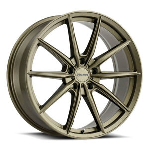 19 Petrol P4b Matte Bronze Wheels Rims Ford Focus St Rs Volvo 5x108 Set Of 4
