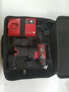 Snap On Cts661 Cordless Screwdriver Drill Kit X 05 Very Nice 2 Batts
