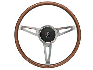 1964 1967 Mustang Shelby Style Steering Wheel Kit W Hub Mustang Pony Emblem