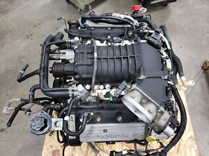 2010 Mustang Gt500 Shelby 5 4 Supercharged Engine Dohc 2007 2009