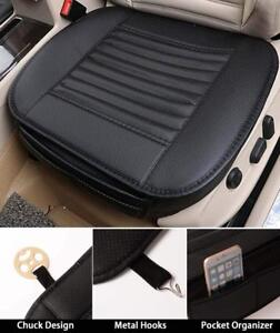 Leather Full Surround Car Seat Cover Protector Pad Mat For Auto Front Cushion