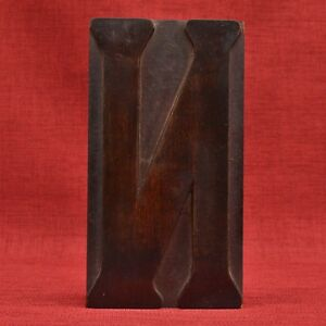 9 3 16 By 5 Letter N Large Day Collins Wood Type Printers Block