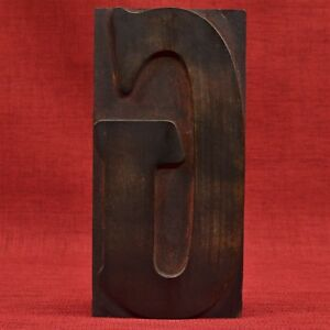 9 3 16 By 4 5 8 Letter G Large Day Collins Wood Type Printers Block