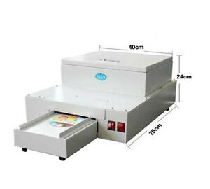 1pcs Cd Dvd Uv Coating Machine Desktop Uv Coater Cd Laminating Machine
