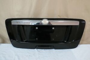05 06 07 08 09 Saab 9 7x 97x Trunk Lid License Panel Lights Garnish Black Oem