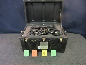 Christie 6 Channel Battery Analyzer Casp 2000 Charger Pp 8333u Military Used