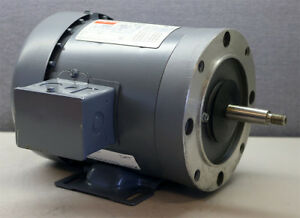 Dayton 3n235d Three Phase Industrial Motor New 1 Hp 208 220 440 Volts
