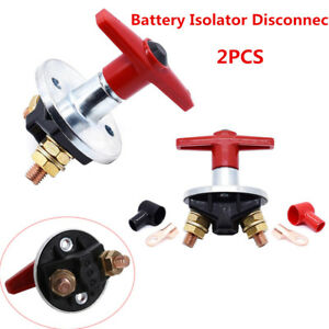 12v Battery Isolator Disconnect Cut Off Power Kill Switch For Car Rv Boat Marine