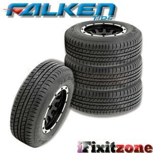 4 Falken Wild Peak H T 265 75r16 116t Blk All Season Performance Tires