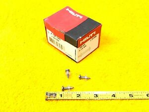 new Box Of 100 Hilti X cr 16p8 Stainless Steel 5 8 Pins 247356 Fastener