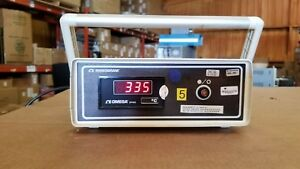 Omega Monogram Dp465 Temperature thermocouple Meter
