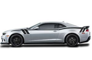 Vinyl Decal Full Body Stripe Wrap For Chevy Chevrolet Camaro 2010 15 Matte Black