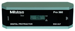 Mitutoyo 950 317 Digital Protractor Precision Level Without Data Output