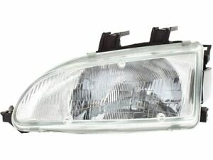 Left Driver Side Headlight Assembly For 1992 1995 Honda Civic 1994 1993 G323pn