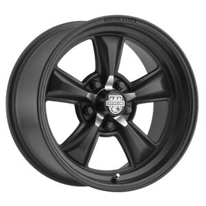 Centerline 635b Classic Muscle Series Rim 17x8 5x4 75 Offset 0 Blk qty Of 4