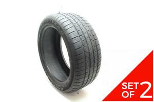 Set Of 2 Used 275 45r20 Goodyear Eagle Ls 2 110h 6 5 7 5 32
