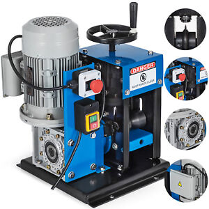 16awg 2 1 4 Electric Wire Stripping Machine Metal Recycle Electric Heavy Duty