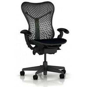 Herman Miller Mirra Chair Fully Featured Flex Back Black