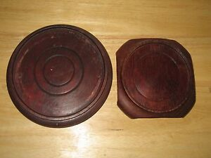 Two Fine Old Chinese Carved Lacquer Wood Stand For Art Vase