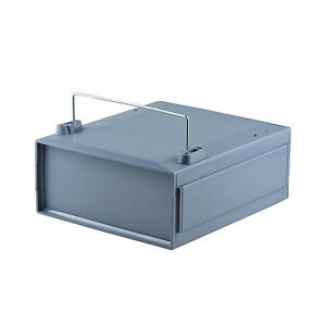 2x Plastic Enclosure Connection Box Project Case Instrument Shell 240x210x100mm