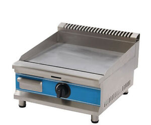 Commercial Counter Top Stainless Steel Lpg Gas Griddle Gas Hot Plat new
