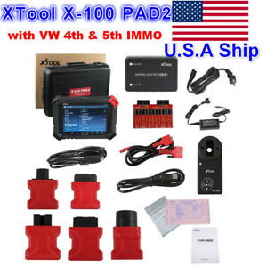 Us Ship X 100 Pad2 Auto Programmer Obdii Diagnostic Scanner With 4th