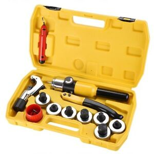 Yescom Hydraulic Tube Expander Swaging 7 Lever Tools Kit Hvac Tool W Case New