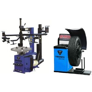Tire Changer Rim Wheel Changers Machine Balancer Combo 950 2 1200 Clamping