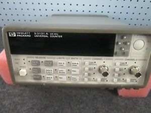Hp Agilent 53131a Universal Counter 225 Mhz